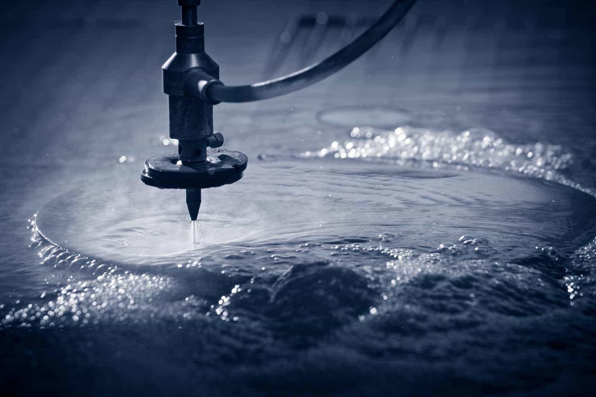 Wasserstrahlen